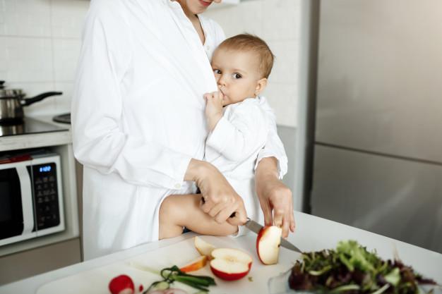 Diet after childbirth